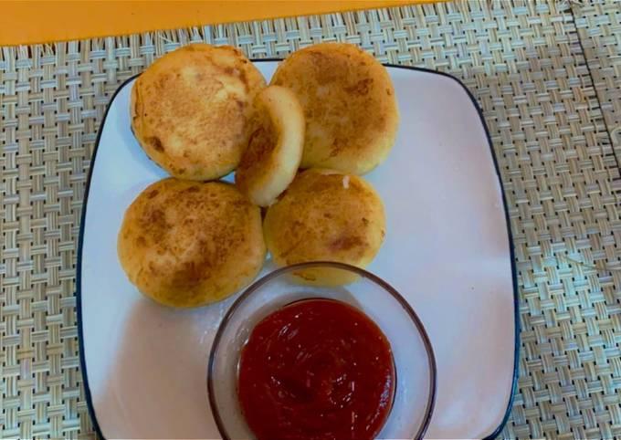 Potatoes cheese pancakes