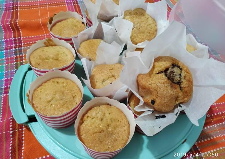 Ricetta Muffin con cuore di cioccolata