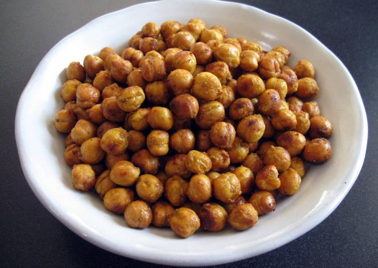 Simple Way to Make Award-winning Crunchy Roasted Chickpeas