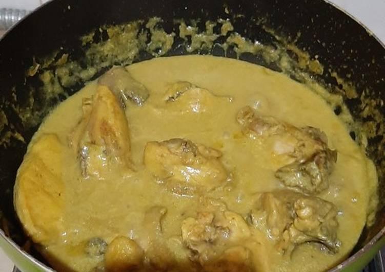 Ayam ungkep goreng + bakar