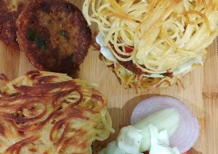 Easiest Way to Prepare Perfect Ramen Burger