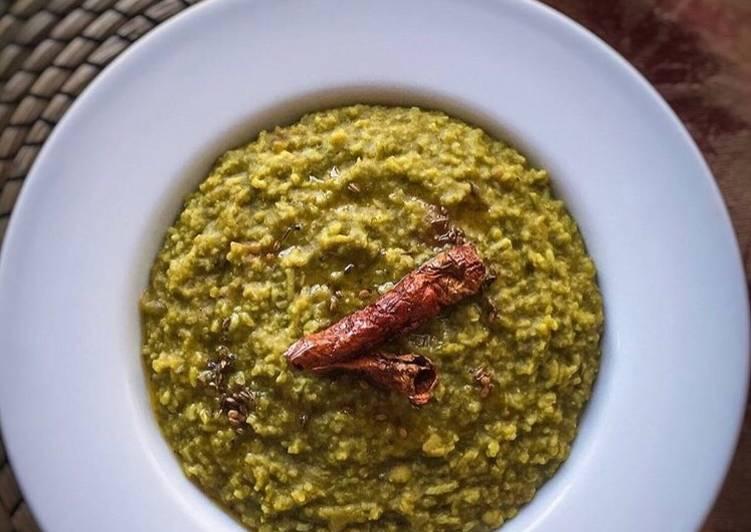 How to Cook Perfect Palak Kichdi/ Spinach kichdi