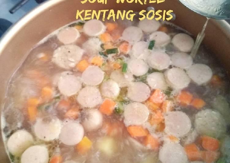 Soup Wortel Kentang Sosis