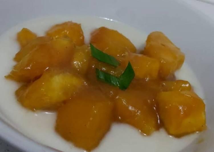 Singkong manis gula jawa