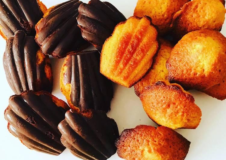 La Recette Pas à Pas Madeleines au chocolat