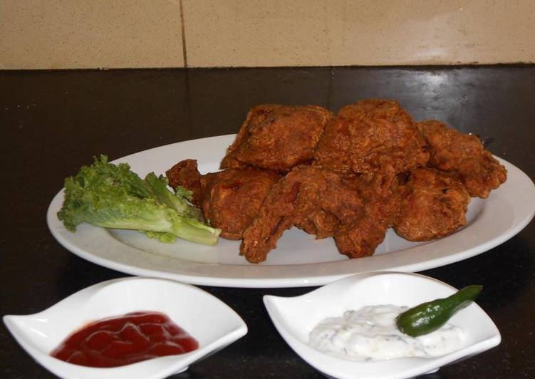 Crispy fried chicken 🍗