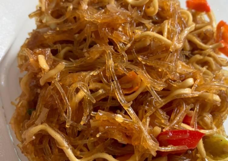 Resep MiSo goreng Paprika (Mie Soun) Bikin Laper