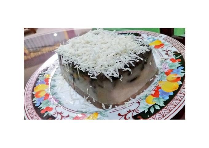 Puding Oreo Cream Cheese Chocolate