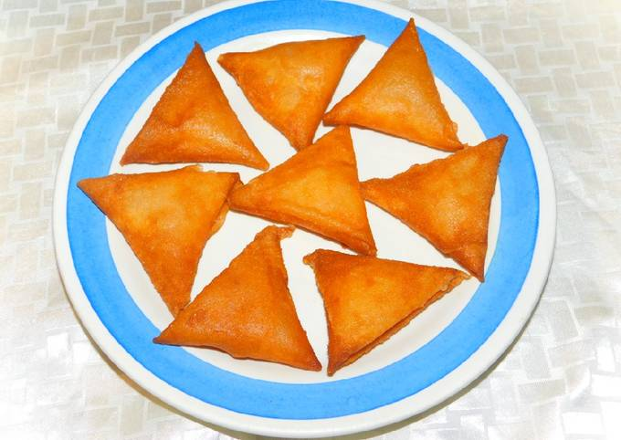 Triangles aux crevettes
