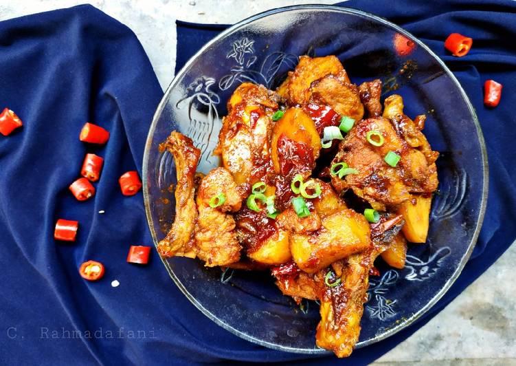 7 Resep: Semur Ayam Kentang  Anti Gagal