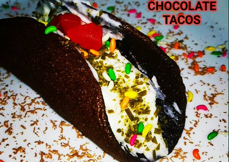 Recipe of Ultimate Chocolate tacos