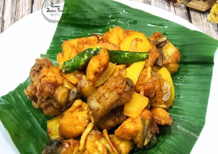 Ayam Goreng Kunyit Mudah - velavinkabakery.com