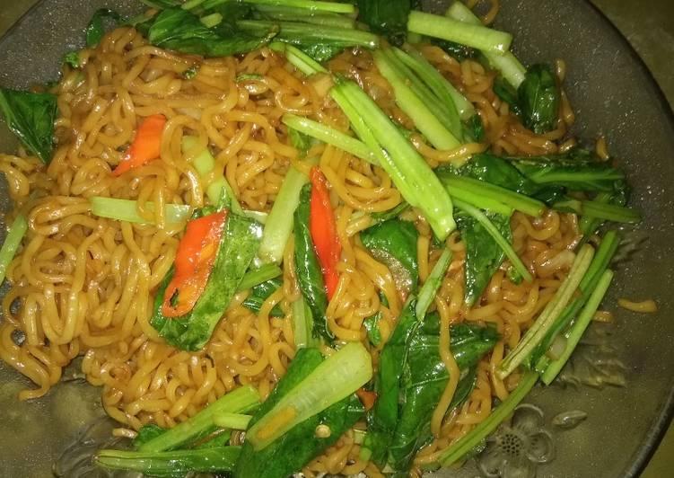 Resep Mie goreng simpel untuk menu sahur Bikin Laper