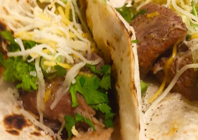 Recipe: Perfect Instant Pot Adovado Tacos