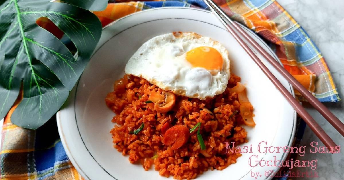 Resep Nasi Goreng Saus Gochujang Oleh Yulidaertik Cookpad