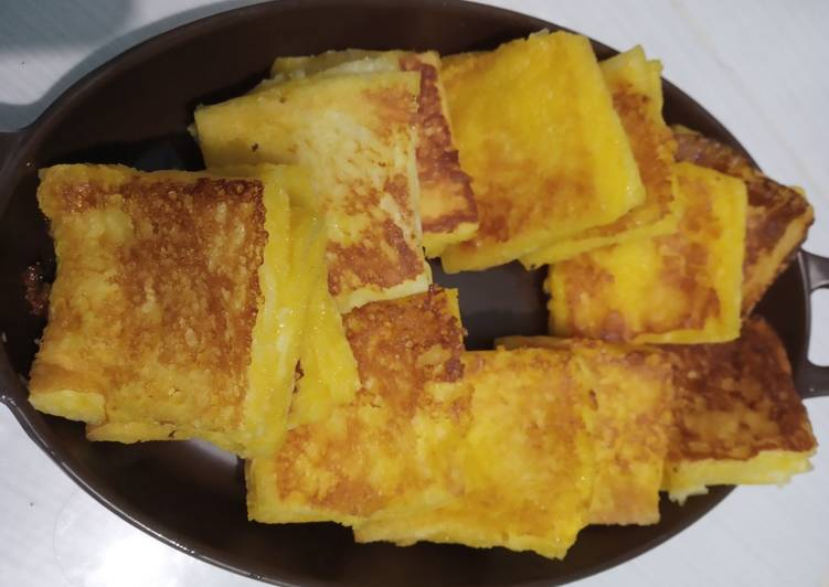 Resep French Toast Ala-Ala (Roti Perancis Ala-Ala) Paling Top