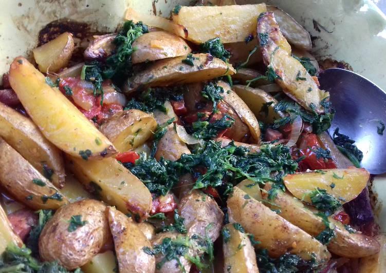 Country potatoes de Yotam Ottolenghi