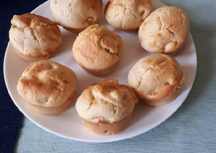 La Meilleur Recette De Muffins pomme amande