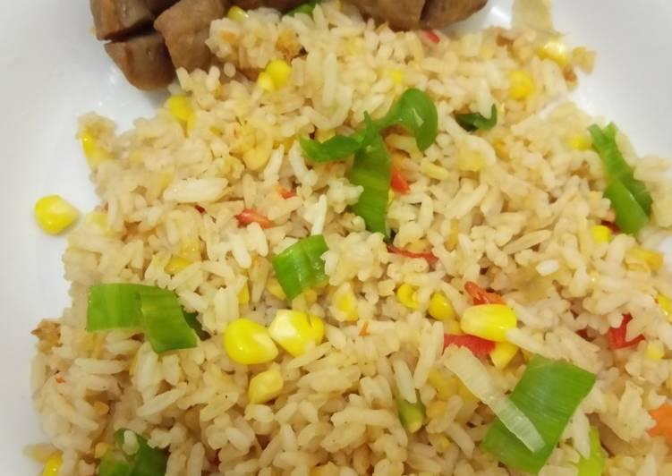 Resep Japanese fried rice (nasi goreng jepang) Paling Top