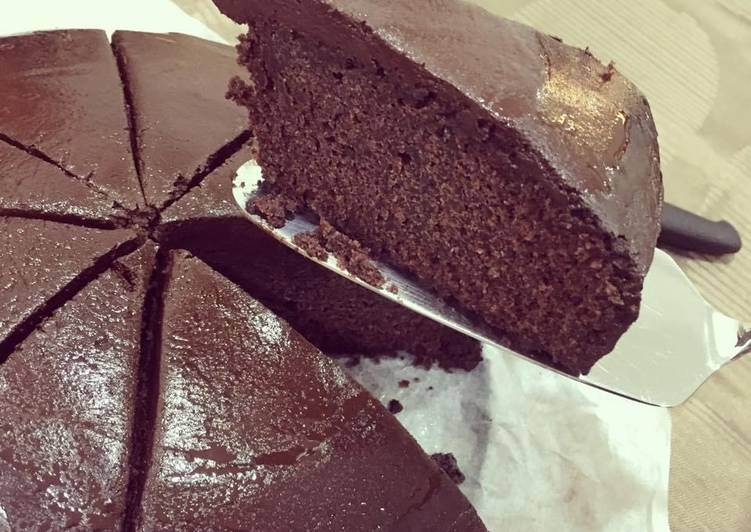 Recipe: Delicious Jewish chocolate cake