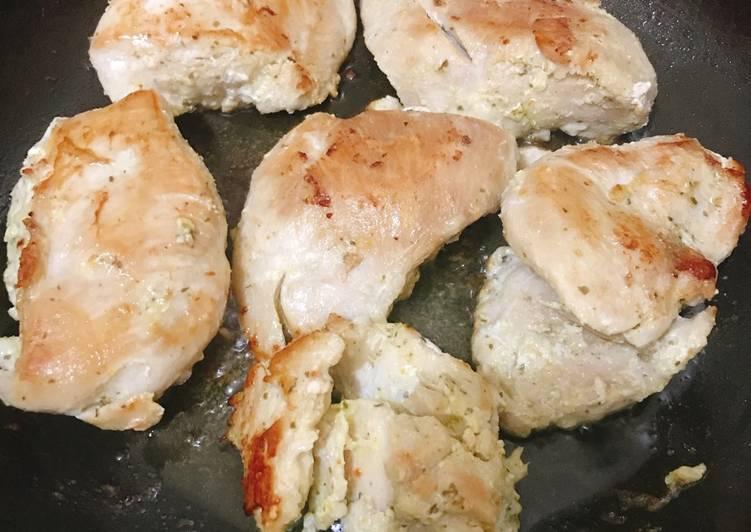 Recipe of Quick Moist sautéed chicken breast