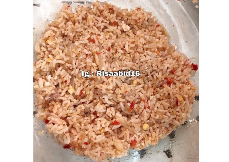 Nasi Goreng Pedas Sambal Ayam Penyet