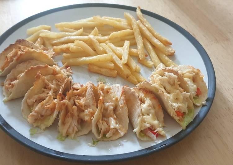 Mini taco platter