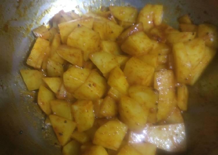 Steps to Prepare Favorite Potatoes fries