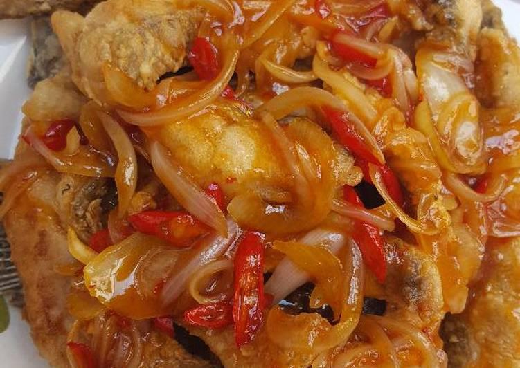 Resep Gurame Asam Manis Sederhana Oleh Melly Eka Fridayanti Cookpad