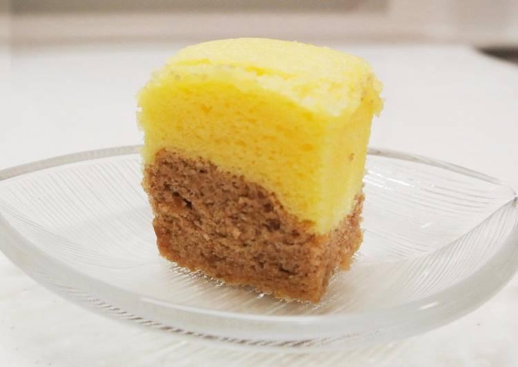 Nos 9 Meilleures Recettes de Un Gâteau en farine de riz avec chocolat blanc et marron