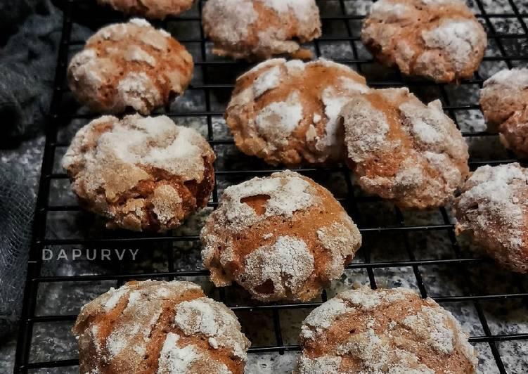CHOCOLATE CRINKLE COOKIES / Cookies Retak