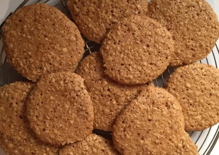 La Meilleur Recette De Biscuits aux flocons d'avoine