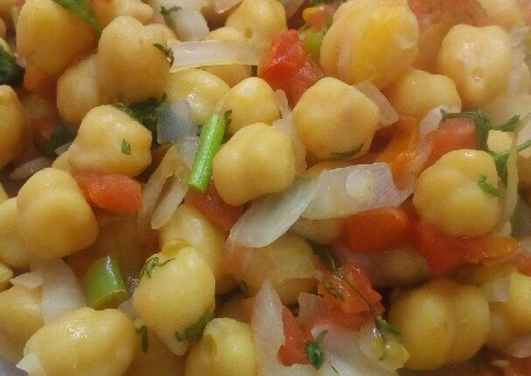Easiest Way to Prepare Delicious Diet Chana chat