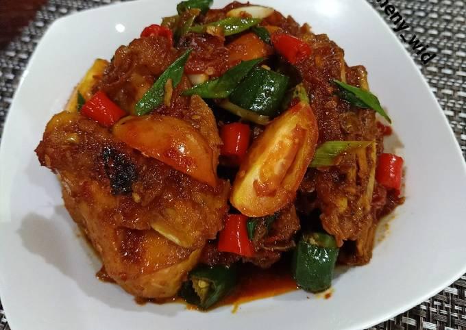 Ayam Kecap Asam Manis Pedas