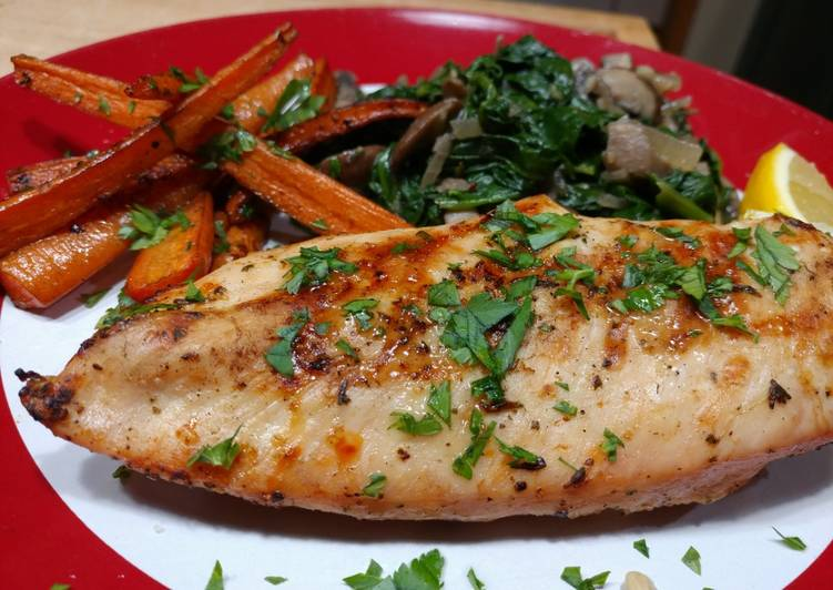 Recipe: Tasty Lemon and Herb Grilled Chicken