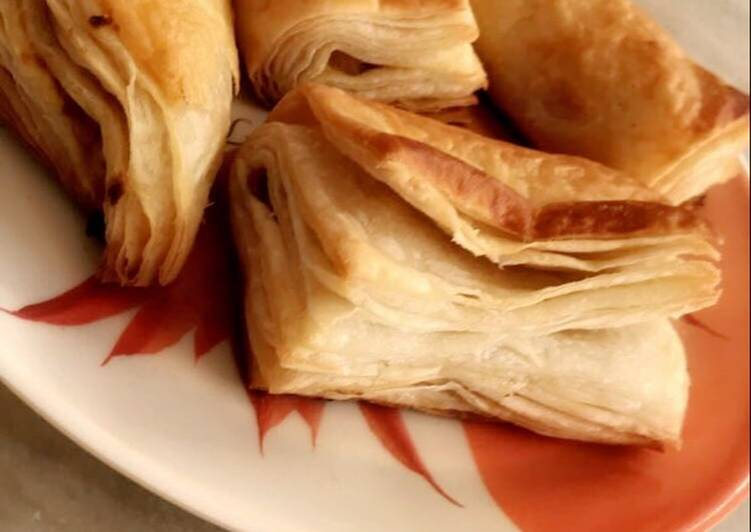 Steps to Prepare Any-night-of-the-week Puff pastry