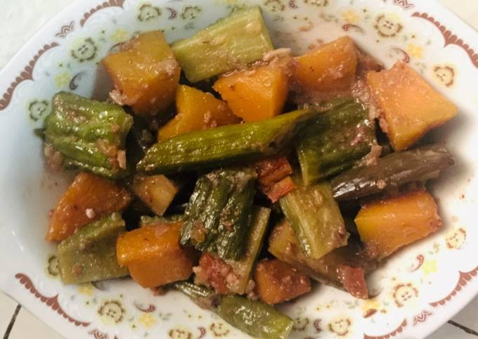 How To Make Vegetables in Shrimp Paste (Simple Pinakbet) Without Equal