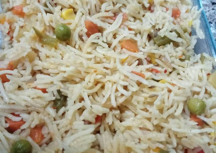 Recipe of Most Popular Vegetable rice