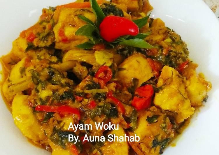 Ayam Woku Balanga ala chef Juna