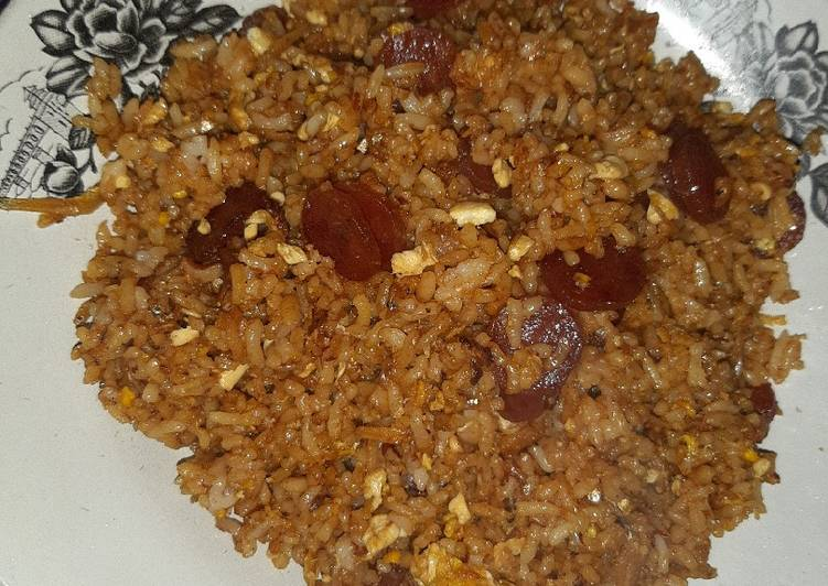 Nasi goreng Terlapchiong (teri lapchiong)