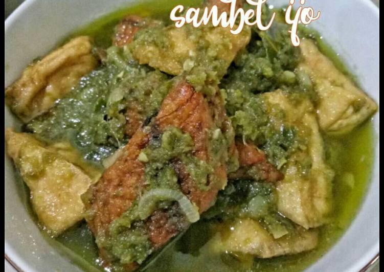Cue Tongkol Tahu Sambel Ijo