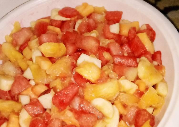 Easiest Way to Make Award-winning Fruits Salad
