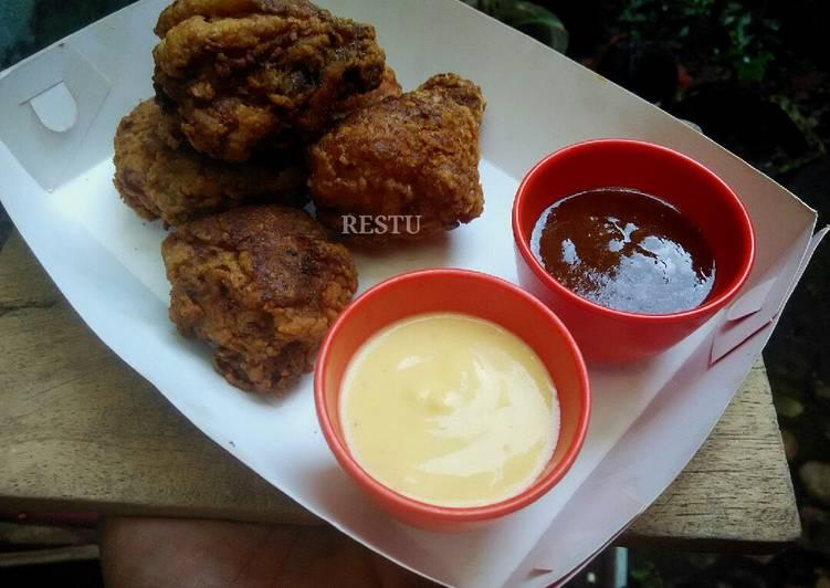 Homemade Saus Keju dan Saus Barbeque ala resto fastfood