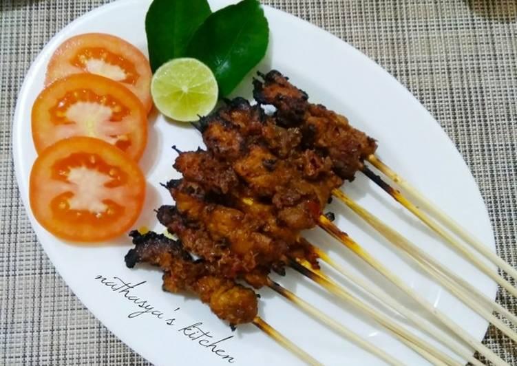 Sate Daging Bumbu Kari