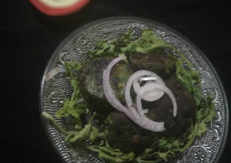 Chicken haryali kebab