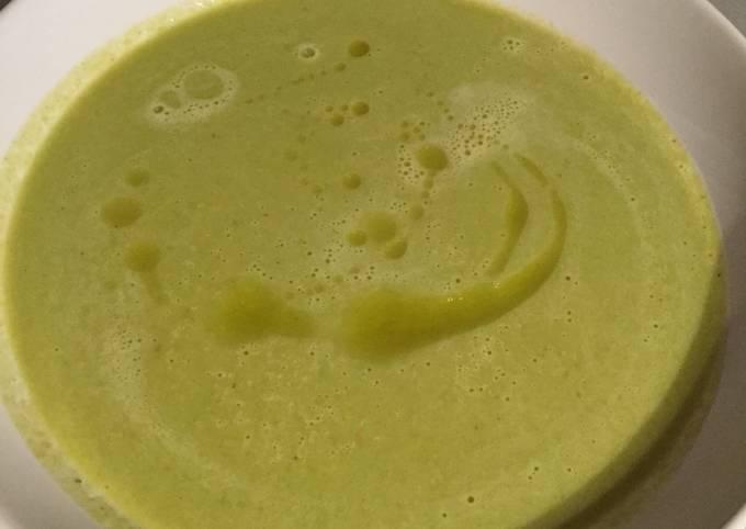Asparagus vegetables soup