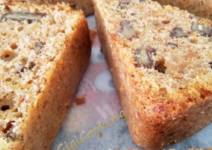 Carotte cake individuel aux noix de pécan