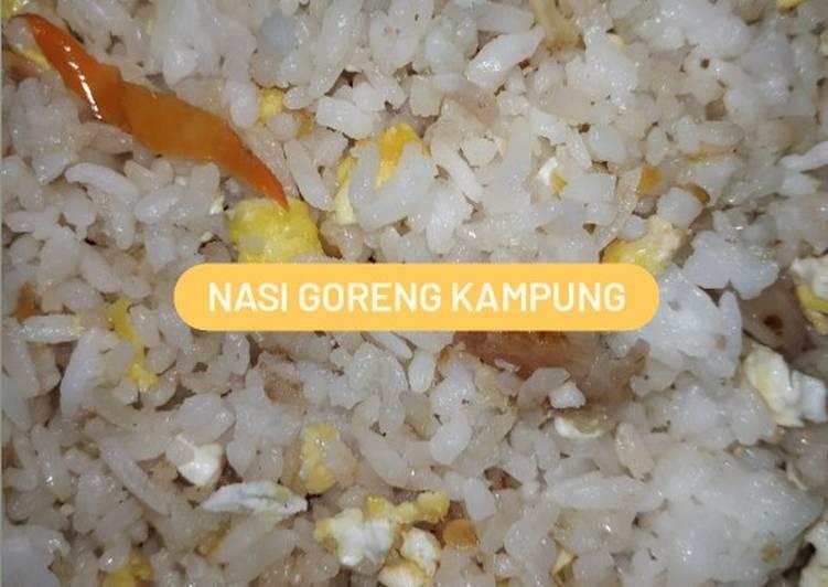 Nasi Goreng Kampung Super Gampang