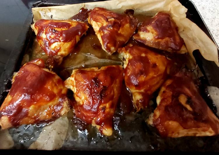 My Chilli BBQ Chicken Thighs 😋
