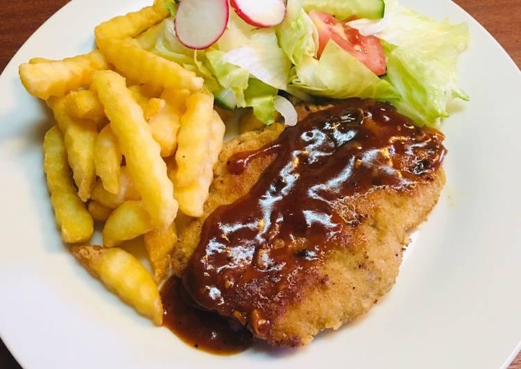 Resep Chicken Schnitzel Ala Chef Turnip Oleh Michael Turnip Cookpad